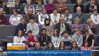Bundestagsdebatte zur Abrüstungspolitik am 02.03.18
