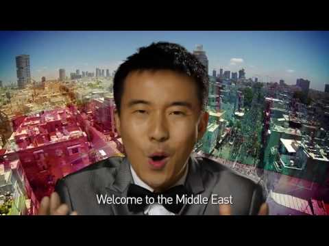 Ya Habibi Tel Aviv (Chinese version) | איציק הסיני - יא חביבי תל אביב