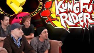 Kung Fu Rider & Echochrome! - E3 2010 LIVE! - Video Games AWESOME!