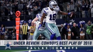 Under Review: Cowboys Best Play of 2018 | Dallas Cowboys 2018-2019