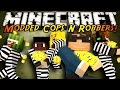Minecraft Mini-Game : MODDED COPS N ROBBERS! LUCKY BLOCK!