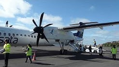 Over 1h delay on a 25 minute flight! / SATA (Economy) / Dash-Q-400 / Terceira-Horta
