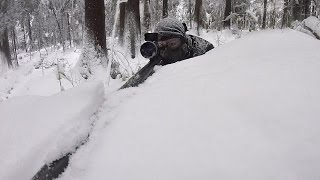 Airsoft Scopecam - Snow Sniper #stuntzsnipes