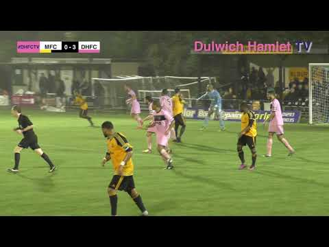 Merstham 0-4 Dulwich Hamlet, Bostik League Premier Division, 24/10/17 | Match Highlights