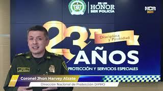 #NCR: Dirección de protección de la Policía Nacional está de cumpleaños. Emisión 10/06/2021.
