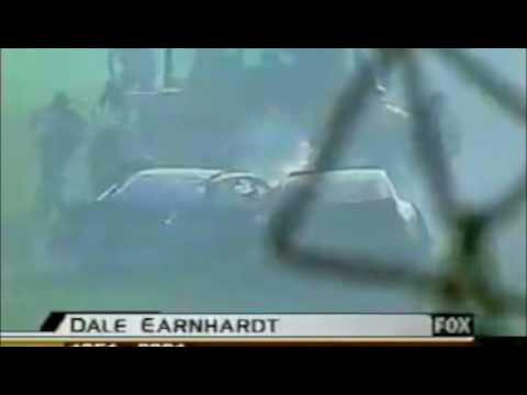 Dale Earnhardt Sr. Crash (whole thing)