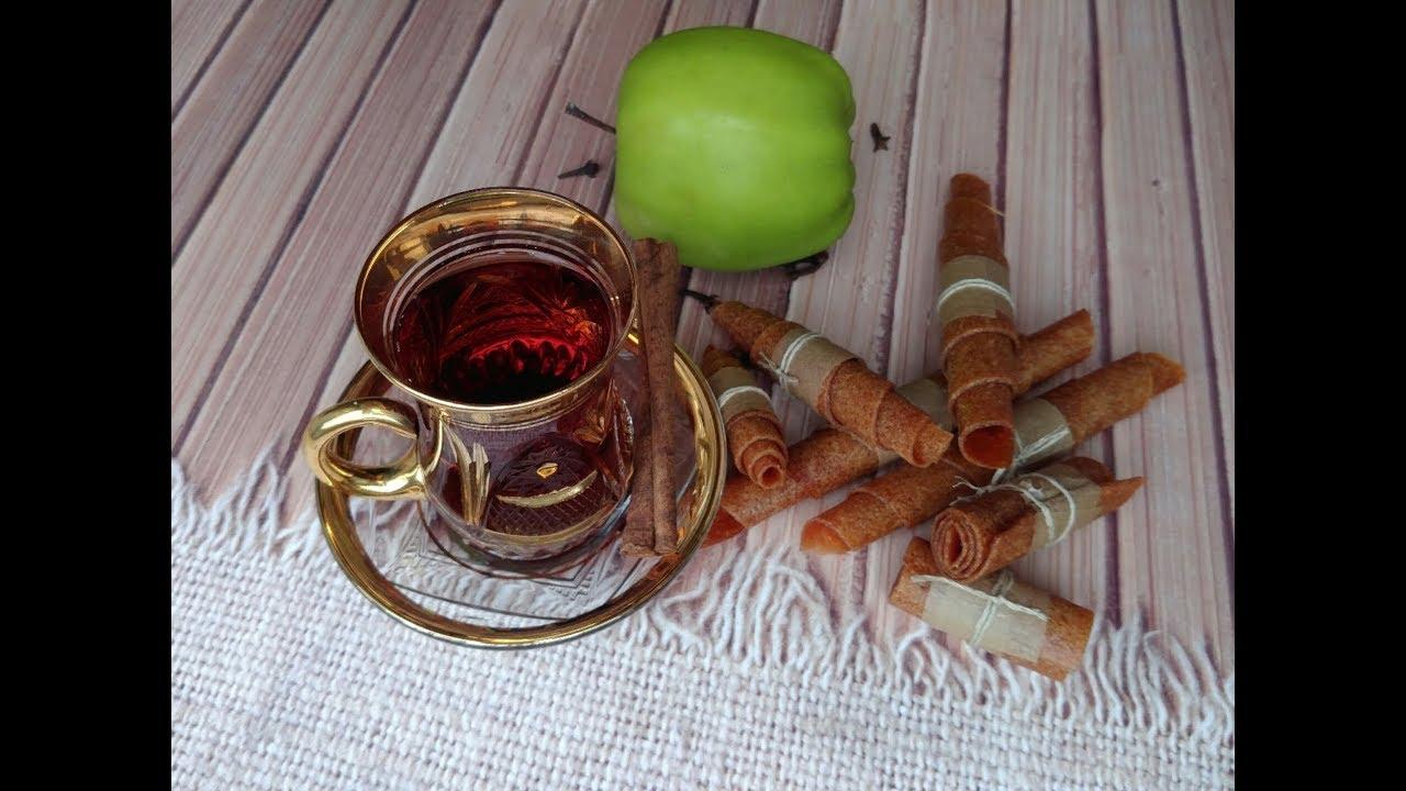 Пастила из яблок в электросушилке Ezidri - вкусное и полезное лакомство