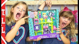 Lps Littlest pet shop Cat Hideaway Review Opening Twins Living Life TLL