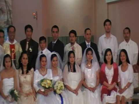 abu dhabi mass wedding at St Joseph Cathedral 1