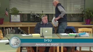 SVSU Board Meeting // 01/22/20