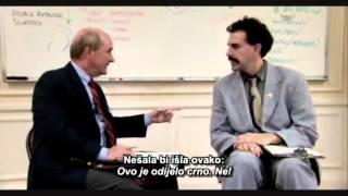 Borat - Not Joke (full scene)