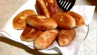 як зробити пиріжки з картоплею на сковороді