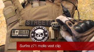 Surefire MOLLE CLIP/ HL-1 ARC RAIL ADAPTER