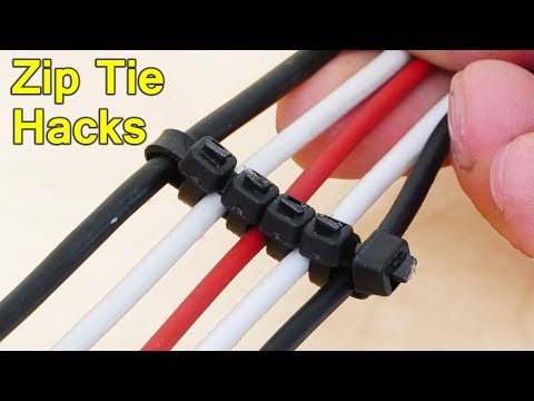 Zip Tie Life Hacks