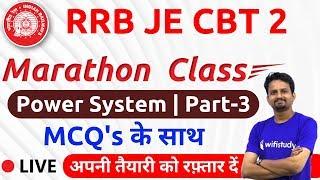 11:30 AM - RRB JE 2019 (CBT-2) | Power System (Part-3) by Ashish Sir | Marathon Class