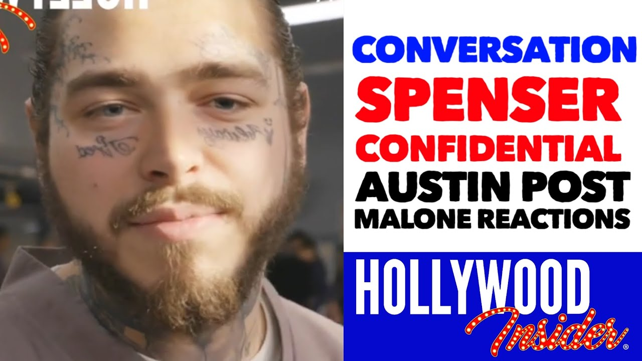 Spenser Confidential In Conversation With Austin Post Malone Reactions Hollywood Insider Youtube