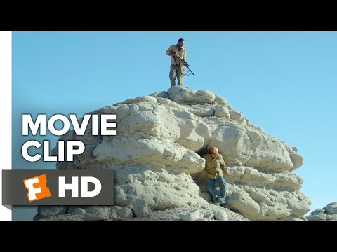 Desierto Movie CLIP - Cat & Mouse (2016) - Jeffrey Dean Morgan Movie