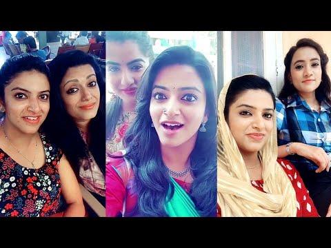 Bhaarya Serial Dubsmash Rahana role Actress Lintu Rony