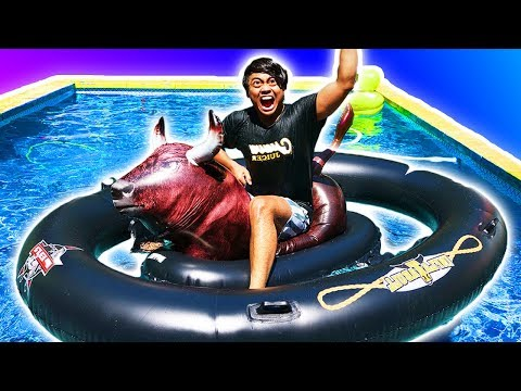 Trying Swimming Pool Gadgets You Never Knew About!