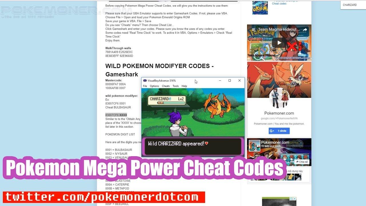 Pokemon mega power beta 3 gba download