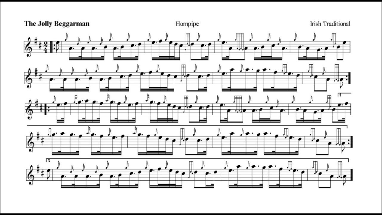Jolly Beggerman - bagpipe setting