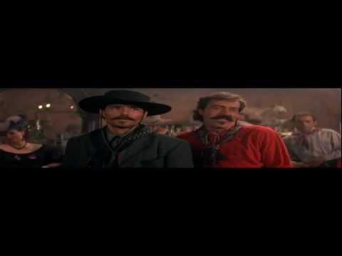 Doc Holliday Mocks Johnny Ringo from Tombstone lol