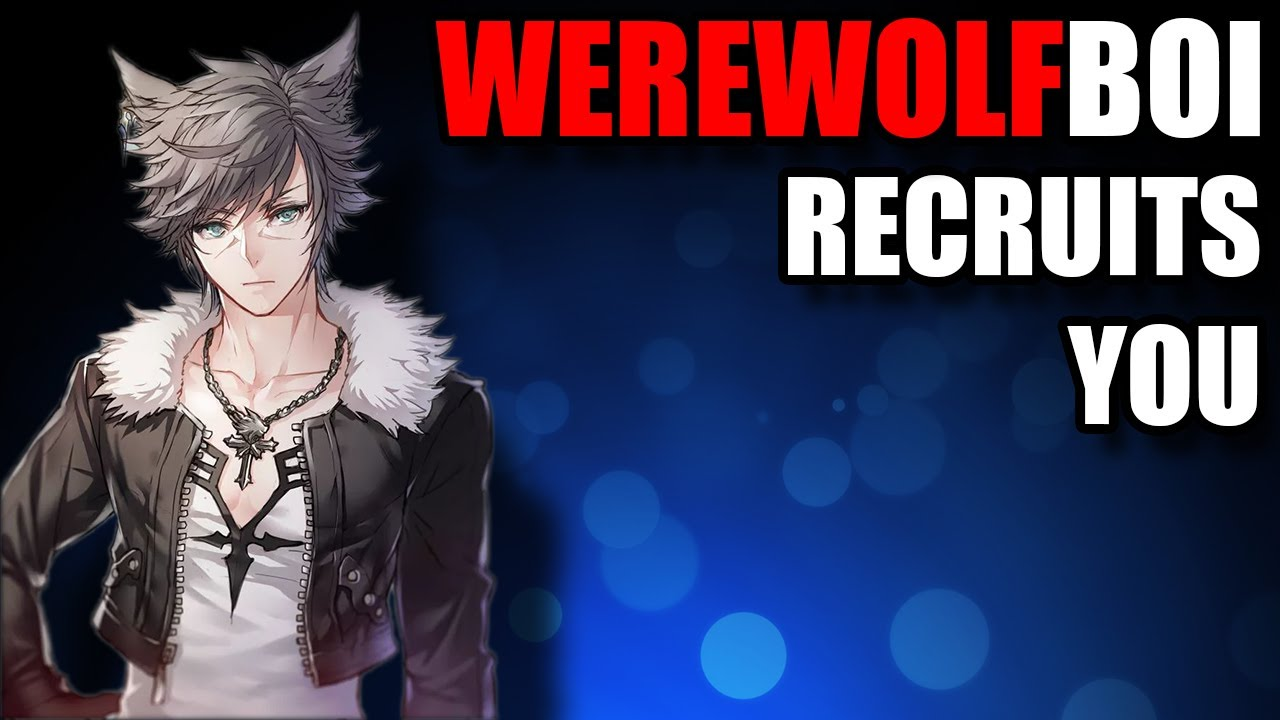 [ASMR] Werewolf Boy Recruits You [Gender Neutral] Male Roleplay