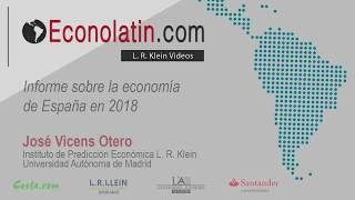 Informe sobre la economía de España.  Actualizado en 2018