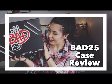 Michael Jackson BAD25 Case - Whats Inside + Review