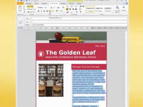 Creating and Pinning Template Emails in Outlook Everyday Office