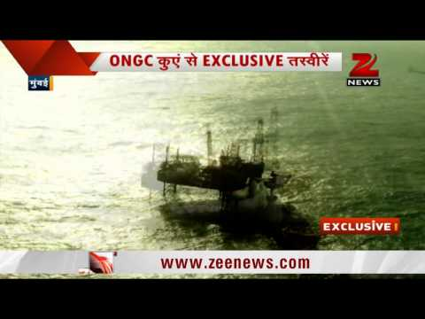 Exclusive pictures of Mumbai gas leak at ONGC oil rig
