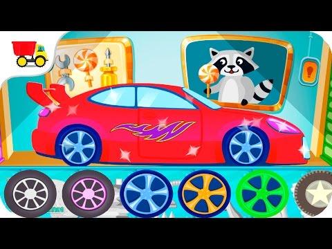 Car Detailing Games for Kids - videos for children - Kids Car Games