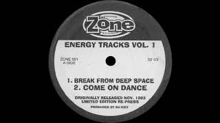 DJ Icee - Come on Dance | 1080p HD | ©1993 Zone Records