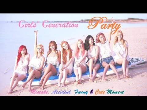 PART 209: Kpop Mistake & Accident [Girls' Generation 'PARTY' only.]