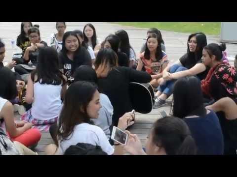 One Direction Singapore Fan Meet Up (Bonding through singing)