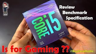 {Hindi} Intel® Core™ i5-9400F Processor is for gaming ? | Review,specification,benchmark |