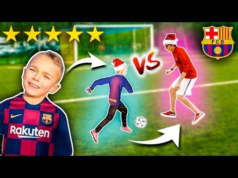 Mecz JUSTEK Team vs mały MESSI Team ⚽ EKIPA NADII | JUSTEK FREESTYLE