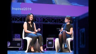 Erika Cheung and Ann O'Dea discuss Theranos and Ethics in Entrepreneurship at Inspirefest 2019