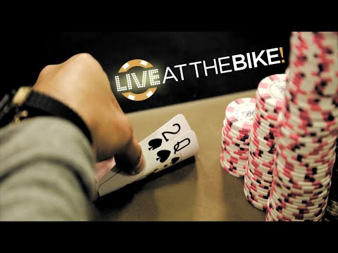 How to CRACK AA with Q2 ♠ Live at the Bike!
