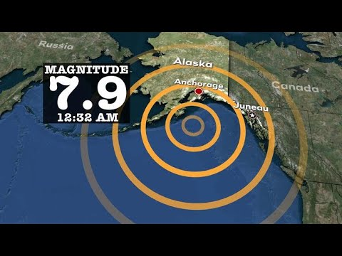 Tsunami warning puts Alaska, western U.S. on edge