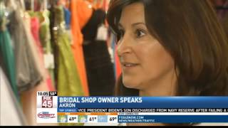 Akron Bridal Shop Closes for Several Days Afte
