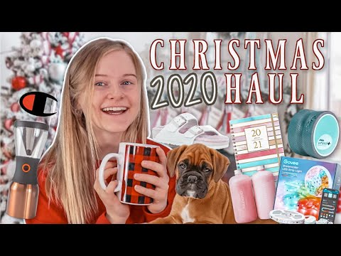 What I got for Christmas 2020!
