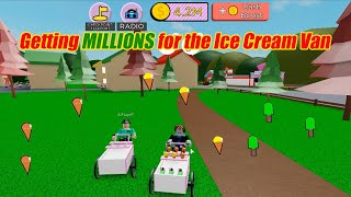 ROBLOX: Ice Cream Simulator - Trying out the game and working towards the Ice Cream Van