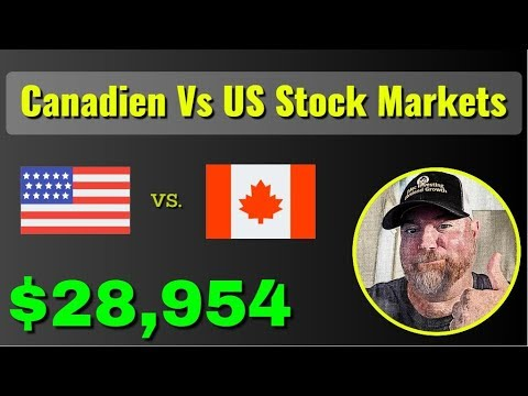 Canadian Versus US Stock Markets From A Canadian's Perspective