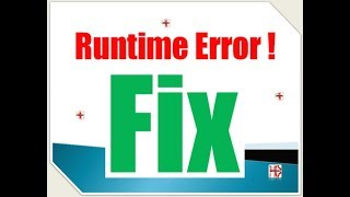 How to fix Microsoft Visual C++ Runtime Error!