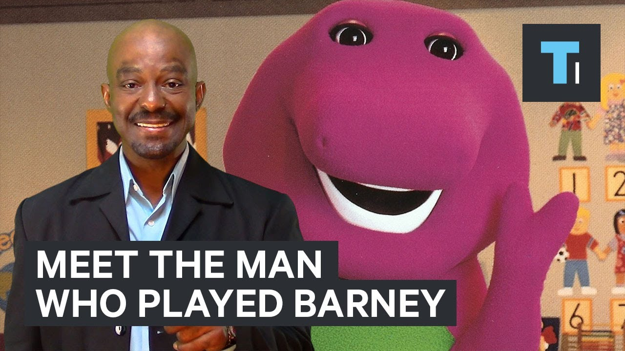 What Its Like To Play Barney For 10 Years Youtube