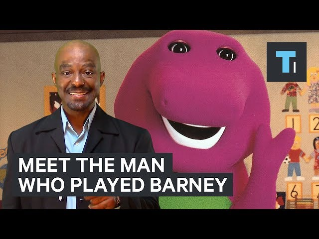 This man played Barney the dinosaur for 10 years —here's what it was like