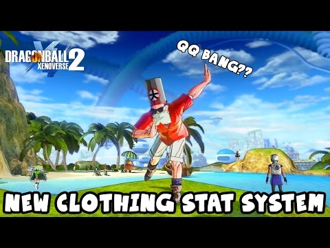 Bulma's QQ Bang Equipment Slot? New Vanity Clothing Stats System CONFIRMED | Dragon Ball Xenoverse 2