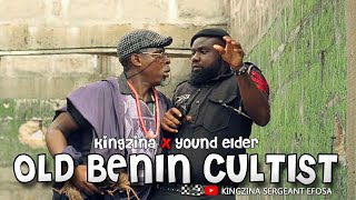 Sergeant Efosa and The old Benin cultist - Sergeant Efosa X Young Elder
