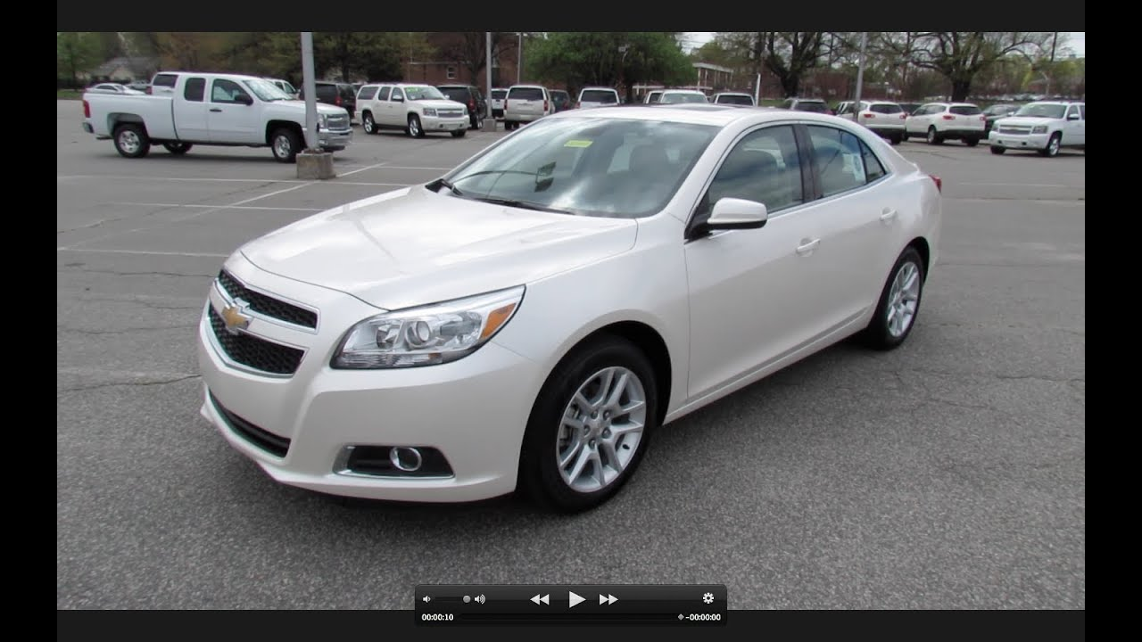 Superior 2013 Chevrolet Malibu ECO Start Up, Exhaust, And In Depth Review   YouTube